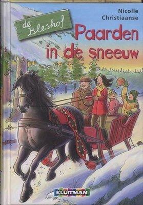 De Bleshof - Paarden in de sneeuw - 2e-hands in goede staat