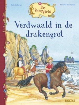 De Ponygirls - Verdwaald in de drakengrot - 2e-hands in goede staat