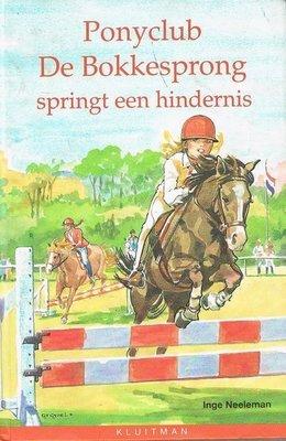 Ponyclub de Bokkesprong - springt een hindernis - 2e-hands in goede staat