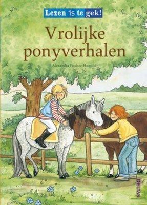 Vrolijke ponyverhalen - Lezen is te gek! - 2e-hands in goede staat