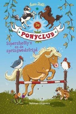 De Ponyclub - Supershetty's en de springwedstrijd - 2e-hands in goede staat