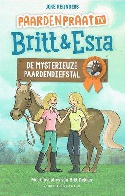 Britt & Esra 4 - De mysterieuze paardendiefstal - Nieuwstaat