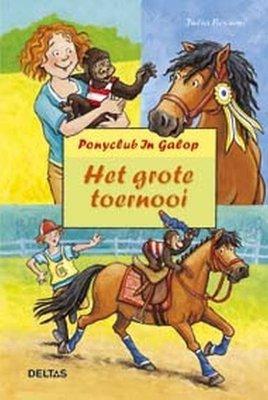 Ponyclub In Galop - Het grote toernooi - 2e-hands in goede staat