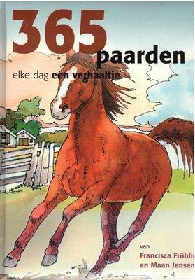 365 Paarden - elke dag een verhaaltje Versie 1 - 2e-hands in goede staat