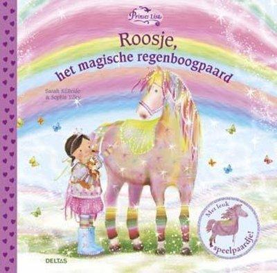 Prinses Lisa - Roosje het magische regenboogpaard - Vrijwel nieuwstaat