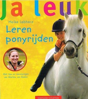 Leren ponyrijden - Ja leuk! - 2e-hands in goede staat