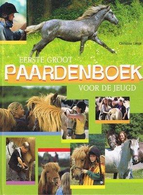 Eerste groot Paardenboek voor de jeugd - 2e-hands in goede staat