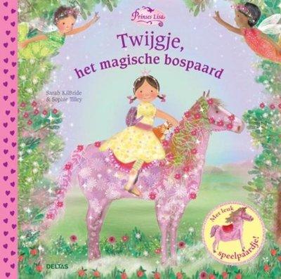 Prinses Lisa - Twijgje, het magische bospaard - Vrijwel nieuwstaat.