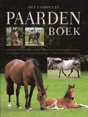 Het complete paarden boek - 2e-hands in goede staat