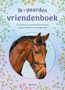 Ik hou van paarden vriendenboek - Nieuwstaat