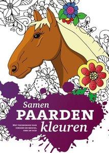 Paarden kleurboek